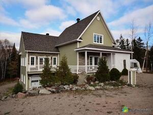 320 000$ - Maison 2 étages à vendre à L'Anse-St-Jean