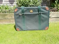 "Large Globetrotter Branded Suitcase 32 x 22 x 8 """