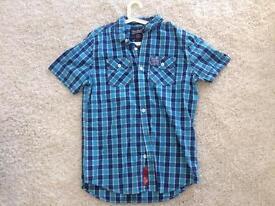 Superdry check shirt - brand new no tags