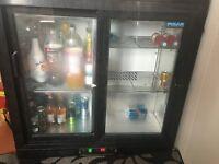 Double Door Beer fridge