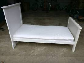 Children's bed with mattress