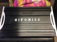 Hifonics Brutus BXI2010D car amp amplifier jl audio jbl mtx lanzar alpine vibe Orion hcca pioneer