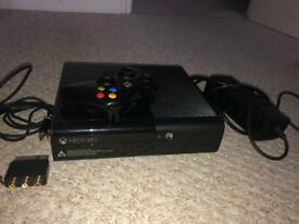 Xbox 360 console with 12 games
