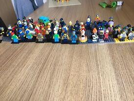 60 Lego figures