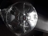Chrome wheel trims brand new