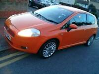 Fiat Grand Punto Sports 2007 MINT CONDITION part exchange welcome