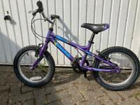 """Dawes boys blowfish 16"""" aluminium frame bike"""