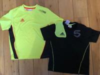 Adidas sports wear for boys aged 7-8