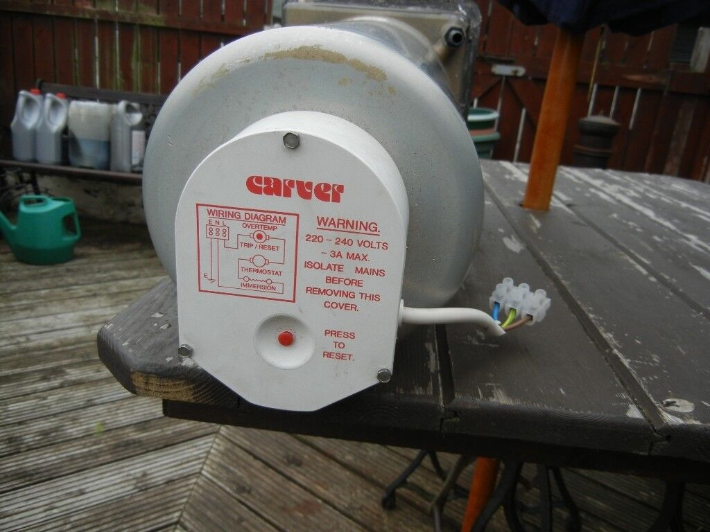 Carver Cascade Ge Water Heater In Mossley Manchester Gumtree Wiring Diagram