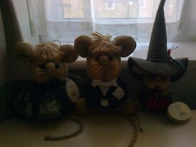 Collectable Toy Mice - MAKE AN OFFER