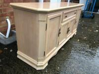 Solid sideboard heavy sturdy Storage unit. Can deliver.
