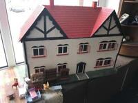 Handmade dolls house - RSPCA