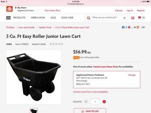 Ames Easy Roller Jr Garden Cart