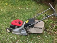 lawnmower: rotary, 42cm cut, petrol 4 stroke, Honda