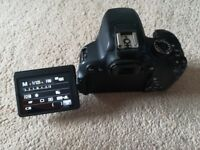 Canon 650D Body Only + remote.