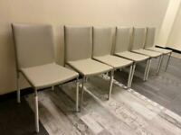 Brand New 6 Harvey's Dining Table Chairs £35 each
