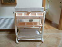 Baby Changing Table with integrated Bath £25