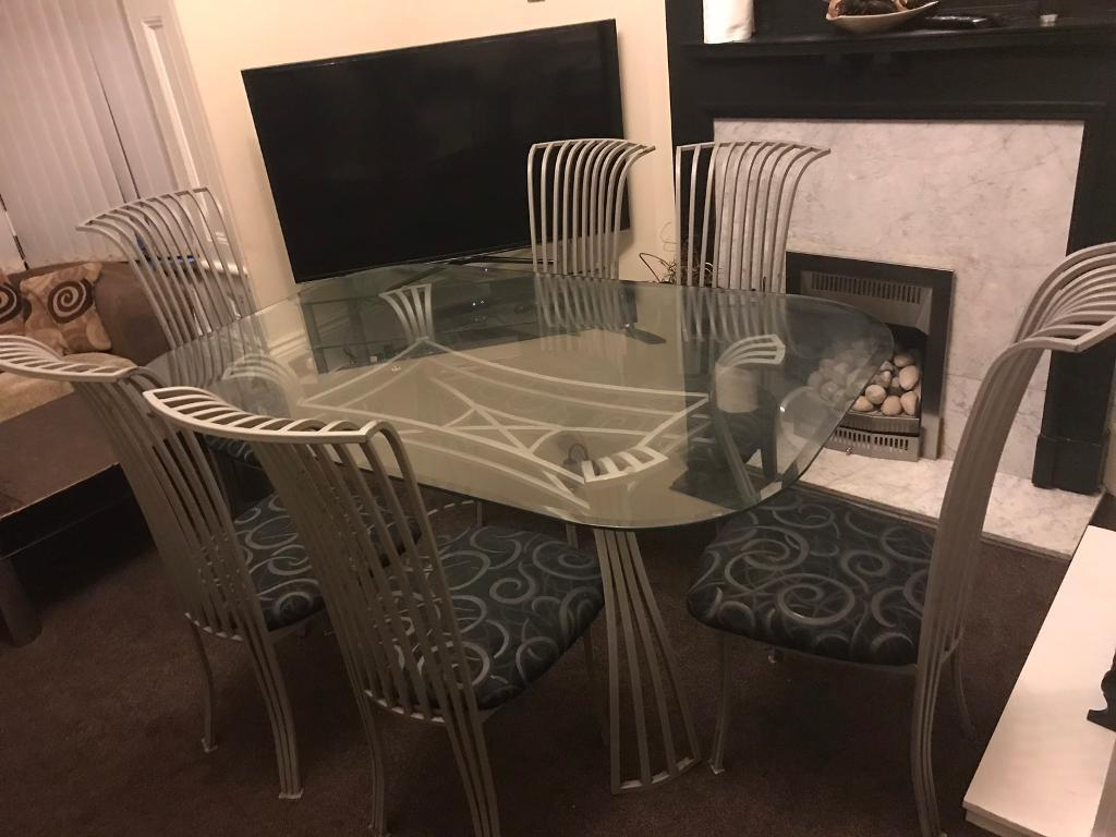 Lovely 6 Chair Dining Table Sheffield