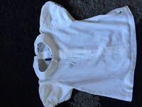 Burberry girls blouse shirt age 2 designer
