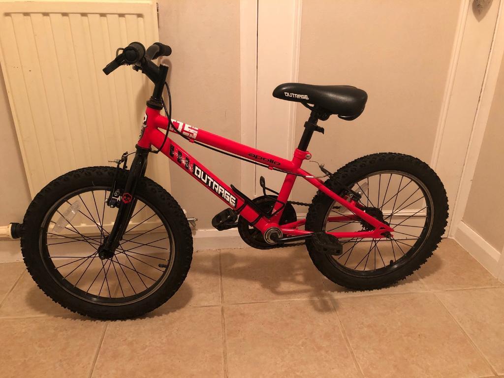 "7b9a932669c7 Kids Apollo Outrage Bike 18"" ages 5-8 | in Plymouth, Devon | Gumtree"