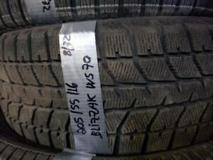 1 winter tire bridgestone blizzak ws-70   205/55r16  SPECIAL!!