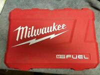 Milwaukee M18 FUEL 18V kit Hammer Drill Impact 2997-22 2999-22 Hard case only
