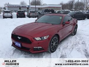 2016 Ford Mustang 2 DR Coupe Low Mileage