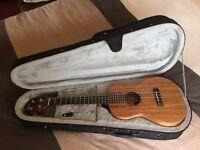 Pono ABD Deluxe baritone ukulele (with pickup).