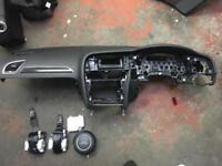 2014 Audi A4 b8 dashboard airbag kit complete