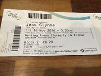 2 x Jess Glynne Tickets Fri 18th Nov