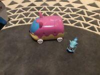Toy camper van and vehicle