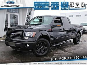2012 Ford F-150 **FX4*CUIR*TOIT*CAMERA*CRUISE*A/C**