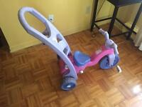 Tricycle a pousser