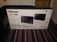 """Panasonic """"58"""" Ultra HD 4K LED TV £750"""