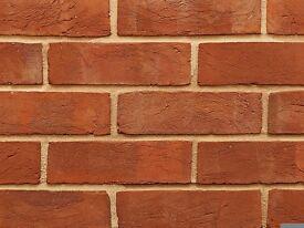 Soft Red Rubber Brick | Original Style | Genuine Handmade Clay | PACK OF 10
