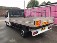 VAUXHALL MOVANO LWB DROPSIDE 63REG FOR SALE