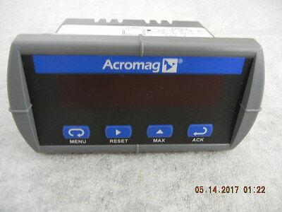 Acromag Process Temp Panel Meter Apm765-6r0-10 Excellent Condition