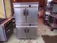 TWIN DECK FASTFOOD GAS CATERING OVEN MACHINE COMMERCIAL DINER PUB TAKEAWAY KITCHEN BAR SHOP CAFE