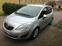 Vauxhall Meriva 1.7 CDTi 16v Exclusive 2012 5dr Automatic Diesel