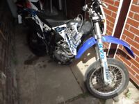 Mikilon 125 4 stroke Super Motard, Dirt bike. 12 months MOT.