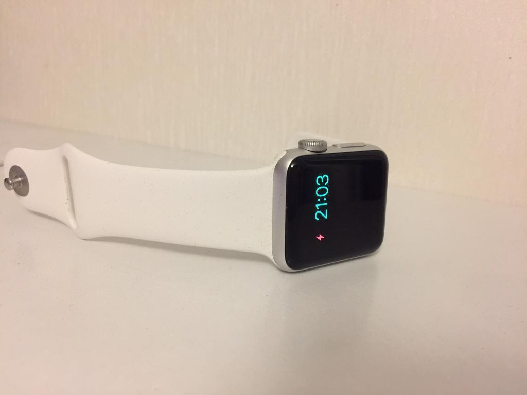 Apple Watch 38mm series 2 boxed as new swapin Lenzie, GlasgowGumtree - Apple Watch series 2 in white. Unmarked condition, only a couple of months old and rarely used. Comes boxed with everything included. May swap for something interesting. Try me. £300 ono Would also consider an iPhone 7 plus in exchange for my iPhone...