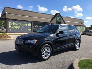 2013 BMW X3 28i/CARPROOF CLEAN/HEATED SEATS/LEATHERETTE