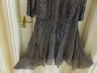 Berketex sequined dress and jacket size 20
