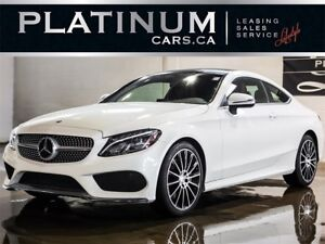 2017 Mercedes-Benz C-Class C300 4MATIC COUPE, S