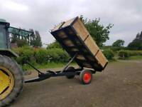 Farm tipping/tipper trailer