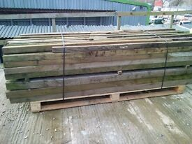 FENCE POSTS TREATED 75MM X 75 MM AND 100MM X 100MM LARGE PACK