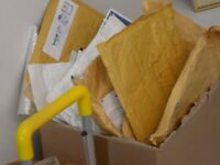 SELECTION OF USED PADDED ENVELOPES