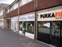 To Let available October 2016 600 sq ft shop with 2 bedroom flat new lease