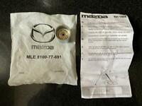 Mazda locking wheel nut key