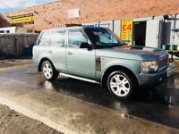 Range Rover vogue 4.4 53 reg low mileage full leather tv sat nav alloy wheels stunning jeep